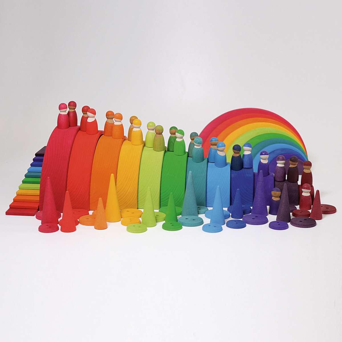 Grimms Regenbogen groß, 12 teilig