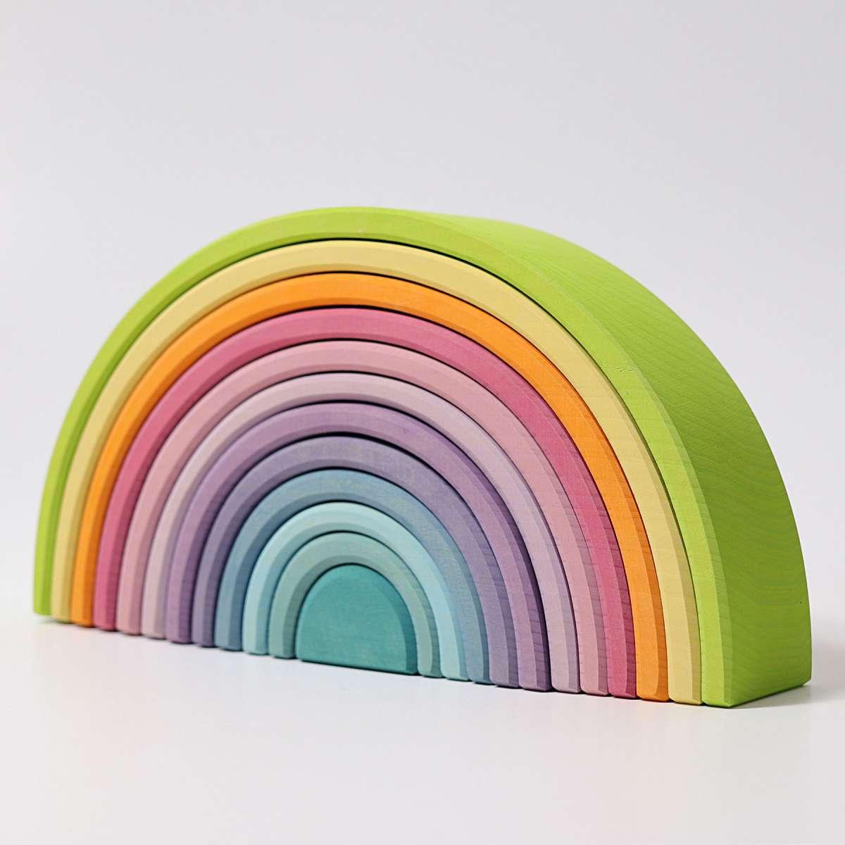 Grimms Regenbogen groß, pastellfarben,  12 teilig