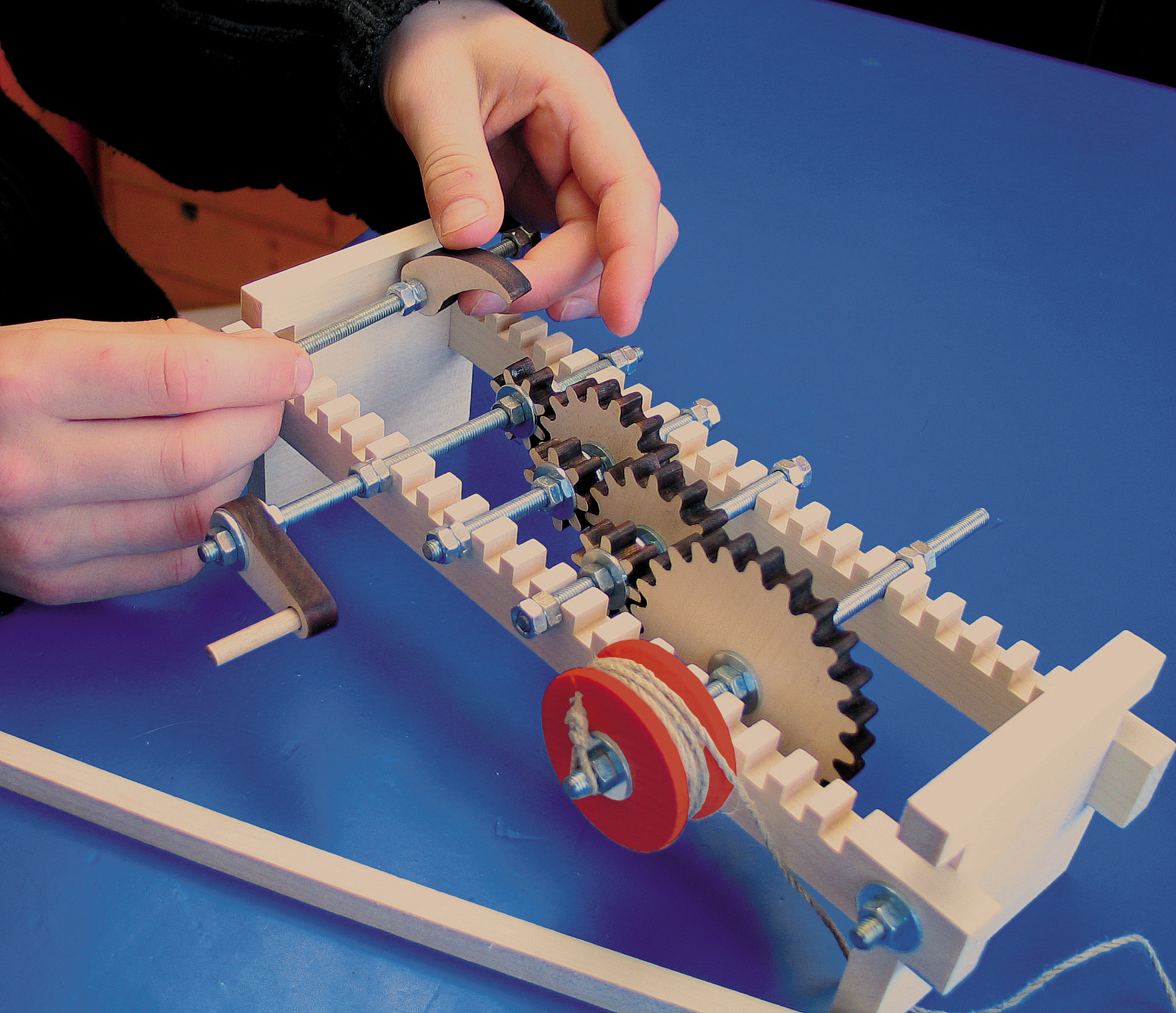 Kraul Zahnräder - Spielen Experimentieren und Erleben Nr. 5850
