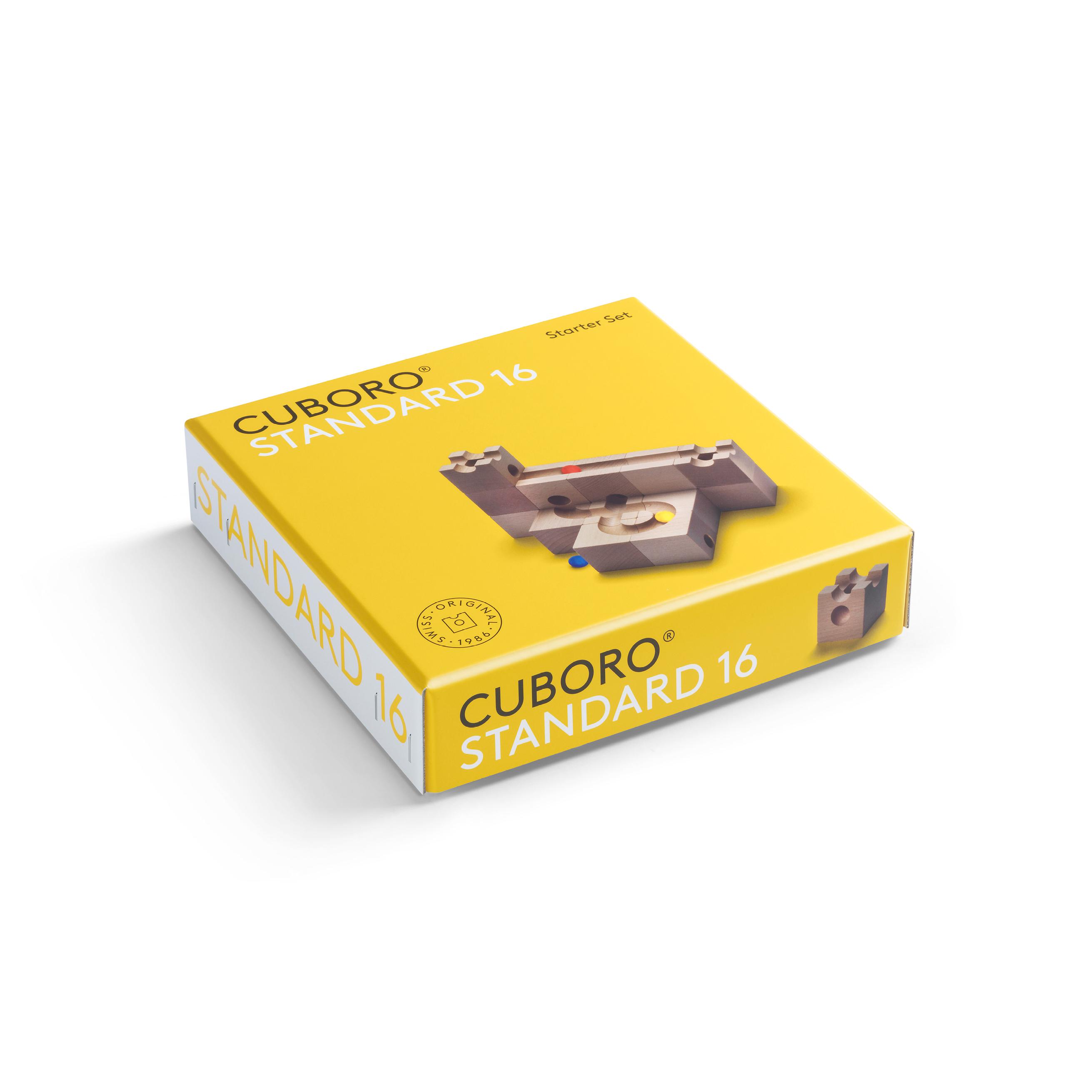 cuboro Standard 16 - das kleine Starterset